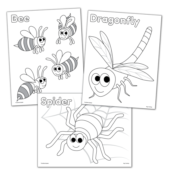 bugs coloring pages